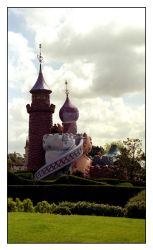 Alice in Wonderland Palace by mlca76