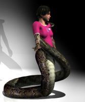 A Loving Lamia by mythster-seven