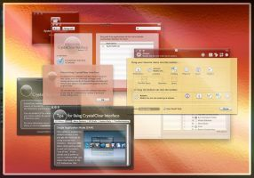 CrystalClear Interface 2.2: 3 by marsmuse