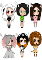 Draw to Adopt - Set 1 ::CLOSED:: by MissxKyle