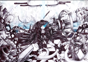 BRS pen art by chalollita