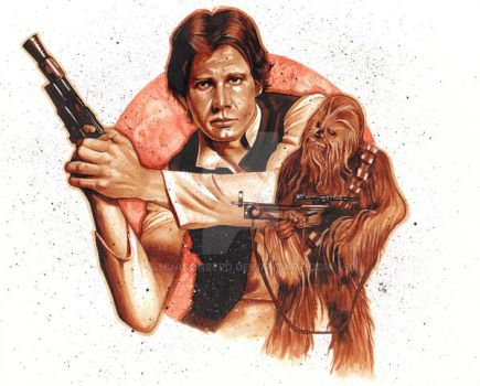 THE SMUGGLER AND THE WOOKIE by MJasonReed
