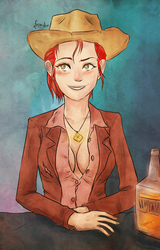 Rose of Sharon Cassidy by frindie