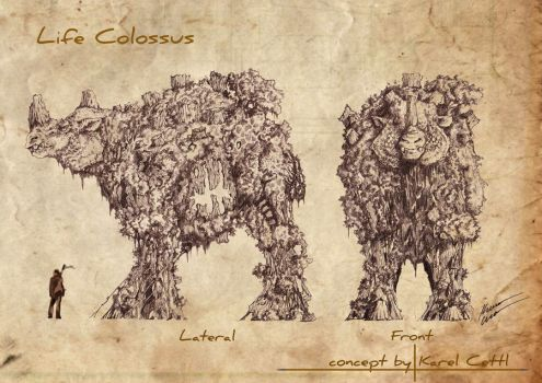 Life Colossus by Chimerum