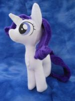 Mlp FiM: Filly Rarity Plushie by Tawny0wl