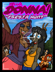 Hello Donna 3 - Freyja Hunt Cover Pg by GearGades