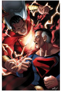 Sups Vs Shazam by JoeAzpeytia
