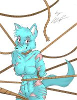 Too much rope by SwarmCrow