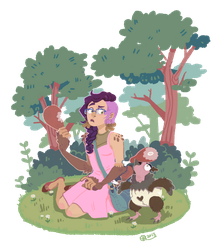 HL - Picnic Guest by KayVeeDee
