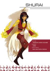Indonesia Hero Project - Shurai by Lostiousness