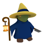 Tonberry Blackmage by SiverCat