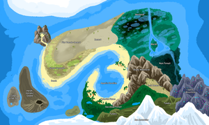 Map of Loonia by Evoloonbot