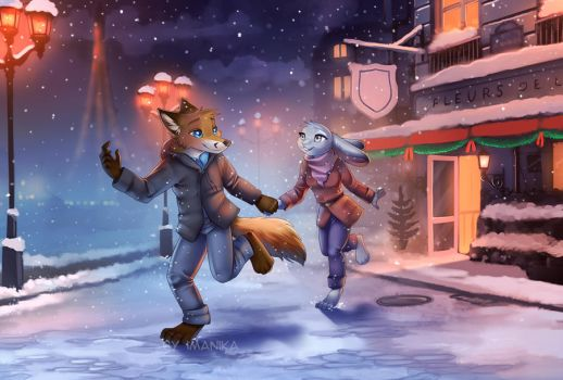 Let it snow by Imanika