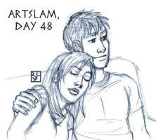 Artslam: Muse Day 48 by KabochaN
