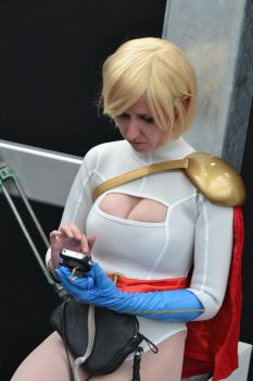 It's tough being Power Girl! by rbompro1
