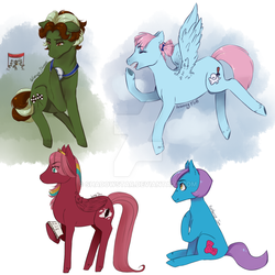 The Four Friends by Shadowstar