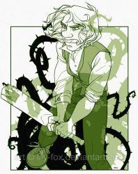 Hatter25: green by lily-fox