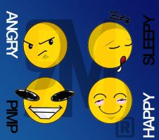 smiley_emotikons by MJ-designer