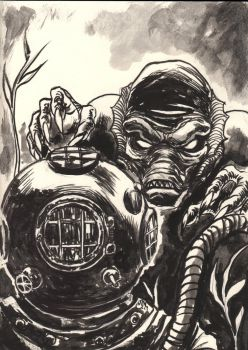 The Creature From the Black Lagoon by Vulture34