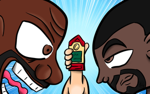 Battle of the Old Spice by Thesimpleartist4