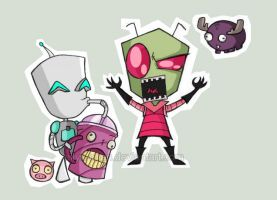 Invader Zim by Eilyn-Chan