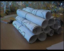 Rolled Up Paper by samiiieee
