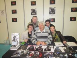 David Prowse -AKA Darth Vador- by jlpicard1701e