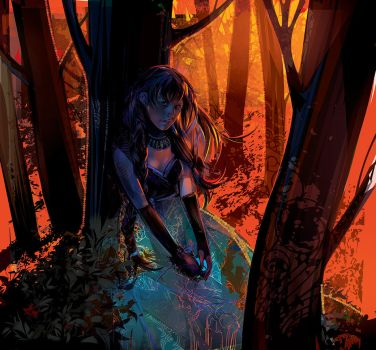 Fire In The Wood by LimKis