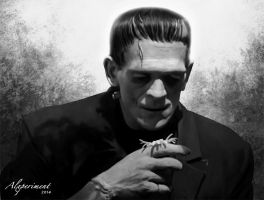 Frankenstein's monster by Alxperiment