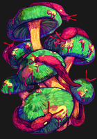 Slugs'n'Shrooms by Kampfkewob