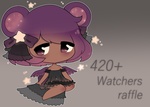 420+ Watchers Lacelette Raffle ( CLOSED !) by amiiou
