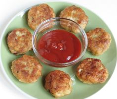 Hungarian Chicken Meatloaf Patties by Kitteh-Pawz