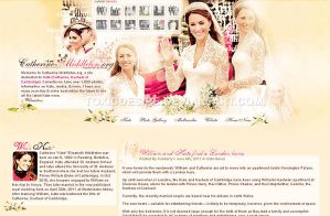 Kate Middleton Layout by toxicdesire