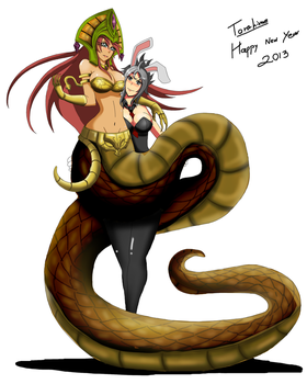 league of legends Happy New Year 2013 by TorahimeMax