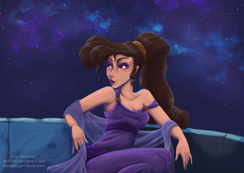 Megara 'Who knew playing hooky could be fun?' by thehappygirl