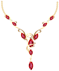 Gold Diamond Necklace PNG Clipart by jabernoimi