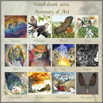 2012 Summary of Art by windfalcon