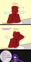 Whoops, wrong number. by AnMachi