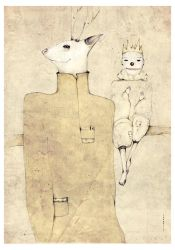 deer and a prince by RedGella