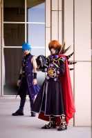 Haou Judai cosplay with construction notes by Malindachan