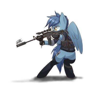 Military Pony by Yunguy1