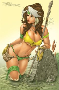Savage Land Rogue by SquirrelShaver