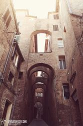 arches of siena (Siena) by mystic-darkness