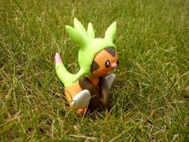 Chespin, the grass starter