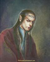 Wise Elrond by Helesssart