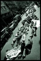 Protest on Pavement 3 by KarlC