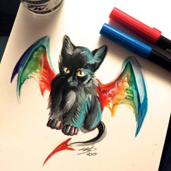 20- Kitty Dragon by Lucky978