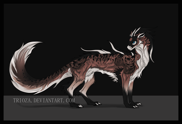 Dragon Design Auction #18 [CLOSED] by Trioza