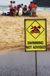 Swimming not advised by mazzman