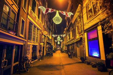 Amsterdam Lights II by oO-Rein-Oo